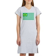 ecology_flag.png Women's Nightshirt