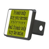 REAL FRIENDS/FRIENDS Rectangular Hitch Cover