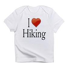 I Love Hiking Infant T-Shirt