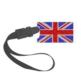 British Glam Luggage Tag