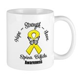 Hope Strength Spina Bifida Mug