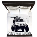 Urban Zombie Tactical Squad King Duvet