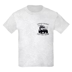 Urban Zombie Tactical Squad Kids Light T-Shirt
