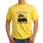 Urban Zombie Tactical Squad Yellow T-Shirt