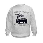 Urban Zombie Tactical Squad Kids Sweatshirt