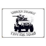 Urban Zombie Tactical Squad Banner