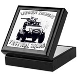 Urban Zombie Tactical Squad Keepsake Box