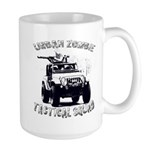 Urban Zombie Tactical Squad Large Mug