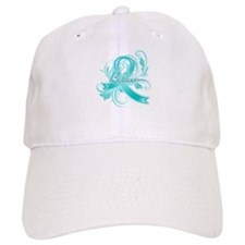 Ovarian Cancer Believe Baseball Cap