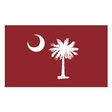 South Carolina Palmetto Moom Flag Decal