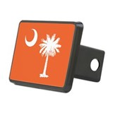 SC Palmetto Moon Rectangular Hitch Cover