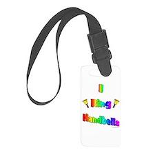 I ring handbells big.jpg Luggage Tag