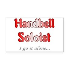 solo.jpg Rectangle Car Magnet