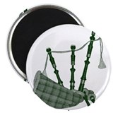 "PIPER (bagpipes design!) 2.25"" Magnet (10 pack)"