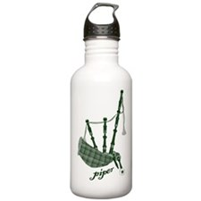 PIPER (bagpipes design!) Water Bottle