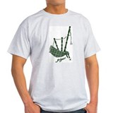 PIPER (bagpipes design!) T-Shirt