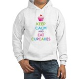 Keep calm and eat cupcakes Hoodie Sweatshirt