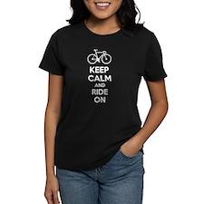 Keep calm and ride on Tee