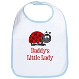 Daddys Little Lady Bib