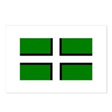 Devon Flag Postcards (Package of 8)