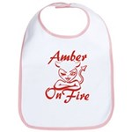 Amber On Fire Bib
