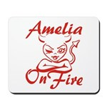Amelia On Fire Mousepad