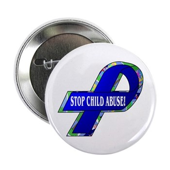 "Child Abuse Awareness 2.25"" Button (100 pack)"