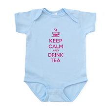 Keep calm and drink tea Infant Bodysuit