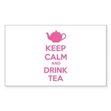 Keep calm and drink tea Decal