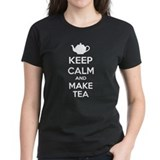 Keep calm and make tea Tee-Shirt