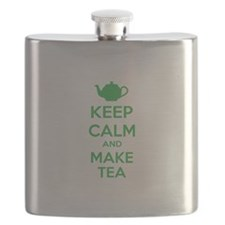 Keep calm and make tea Flask