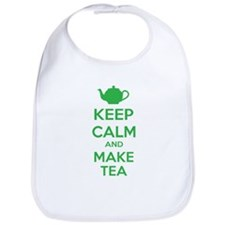 Keep calm and make tea Bib