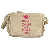 Keep calm and make tea Messenger Bag