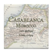 Casablanca Tile Coaster