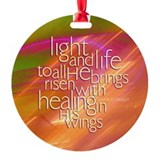 Christmas Hymn Ornament (Round)