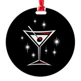 Martini Ornament (White)