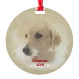 Kuvasz Christmas Ornament (Round)