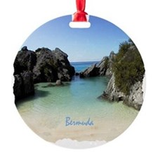 Bermuda Beach Cove - Gift Ornament Ornament
