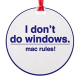 Mac Rules - Ornament (Round)