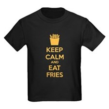 Keep calm and eat fries T