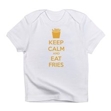 Keep calm and eat fries Infant T-Shirt