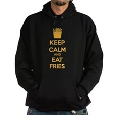 Keep calm and eat fries Hoodie