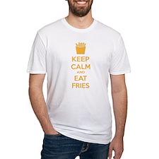 Keep calm and eat fries Shirt