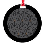 Belgian Sheepdogs Ornament (Round)