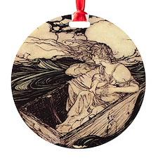 Rackham's Danae Ornament (Round)
