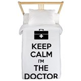 Keep calm I'm the doctor Twin Duvet