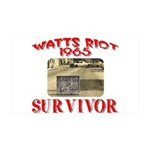 1965 Watts Riot Survivor 35x21 Wall Decal