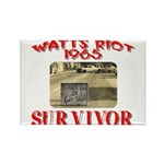 1965 Watts Riot Survivor Rectangle Magnet (100 pac