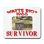1965 Watts Riot Survivor Mousepad