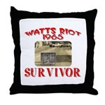 1965 Watts Riot Survivor Throw Pillow